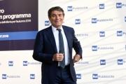 Foto/IPP/Gioia Botteghi 05/07/2018 Roma, presentazione dei palinsesti rai 2018, nella foto Duilio Giammaria  Italy Photo Press - World Copyright