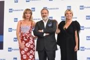 Foto/IPP/Gioia Botteghi 05/07/2018 Roma, presentazione dei palinsesti rai 2018, nella foto Chiara Giallonardo e Marcello Masi e Federica de Denaro  Italy Photo Press - World Copyright