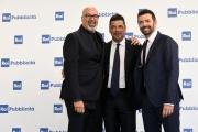 Foto/IPP/Gioia Botteghi 05/07/2018 Roma, presentazione dei palinsesti rai 2018, nella foto Alberto Matano, Giovanni Ciacci, Salvo Sottile  Italy Photo Press - World Copyright