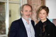 Foto/Gioia Botteghi 09/04/2018 Roma,  presentazione del film I FANTASMI D'ISMAEL nella foto: il regista Arnaud Desplechin e Alba Rohrwacher  Italy Photo Press - World Copyright