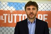 Foto/IPP/Gioia Botteghi13/04/2018 Roma, presentazione del film Il tuttofare, nella foto: il regista Valerio Attanasio Italy Photo Press - World Copyright