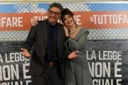 Foto/IPP/Gioia Botteghi13/04/2018 Roma, presentazione del film Il tuttofare, nella foto: Sergio Castellitto e Elena Sofia Ricci Italy Photo Press - World Copyright