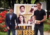 Foto/IPP/Gioia Botteghi 29/05/2018 Roma, presentazione del film Malati di sesso, nella foto: il regista Claudio Cicconetti, il produttore Roberto Capua  Italy Photo Press - World Copyright
