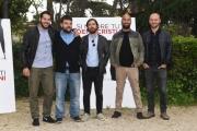 Foto/IPP/Gioia Botteghi 04/05/2018 Roma, Presentazione del film Si muore tutti democristiani, nella foto: IL TERZO SEGRETO DI SATIRA  Italy Photo Press - World Copyright