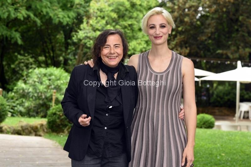Foto/Gioia Botteghi 23/05/2018 Roma, presentazione del film Stato di ebbrezza, nella foto: Francesca Inaudi, Maria Rossi  Italy Photo Press - World Copyright