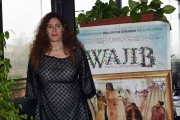 Foto/IPP/Gioia Botteghi 09/04/2018 Roma,  presentazione del film Wajib, nella foto: regista palestinese  Annemarie Jacir e   Italy Photo Press - World Copyright