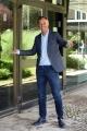 """Foto/IPP/Gioia Botteghi 04/09/2018 Roma, presentazione del nuovo programma di rai 2 2 in onda anche su radio 2, """"B come sabato"""", nella foto: Gabriele Corsi  Italy Photo Press - World Copyright"""