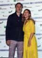Foto/IPP/Gioia Botteghi29/05/2018 Roma, presentazione delle cinquine dei premi Nastro D'Argento, nella foto Michela Andreozzi con marito Italy Photo Press - World Copyright