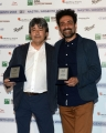 Foto/IPP/Gioia Botteghi29/05/2018 Roma, presentazione delle cinquine dei premi Nastro D'Argento, nella foto Pasquale Catalano e Antonio Fresa Italy Photo Press - World Copyright