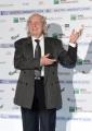 Foto/IPP/Gioia Botteghi29/05/2018 Roma, presentazione delle cinquine dei premi Nastro D'Argento, nella foto Vittorio Storaro e signora Italy Photo Press - World Copyright