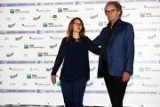 Foto/IPP/Gioia Botteghi29/05/2018 Roma, presentazione delle cinquine dei premi Nastro D'Argento, nella foto Elisabetta Mantovani e Mohammed Macri Italy Photo Press - World Copyright