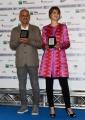 Foto/IPP/Gioia Botteghi29/05/2018 Roma, presentazione delle cinquine dei premi Nastro D'Argento, nella foto Paola Cortellesi e Riccardo Milani Italy Photo Press - World Copyright