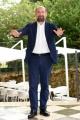 Foto/IPP/Gioia Botteghi 01/10/2018 Roma, presentazione della fiction di rai tre I TOPI, nella foto:  Antonio Albanese  Italy Photo Press - World Copyright