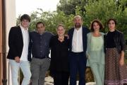 Foto/IPP/Gioia Botteghi 01/10/2018 Roma, presentazione della fiction di rai tre I TOPI, nella foto: il cast  Italy Photo Press - World Copyright