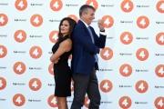 Foto/IPP/Gioia Botteghi 12/09/2018 Roma, Presentazione della nuova Retequattro, nella foto Veronica Gentili e Giuseppe Brindisi  Italy Photo Press - World Copyright