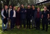 Foto/IPP/Gioia Botteghi12/10/2018 Roma, presentazione della seconda serie della fiction Rocco Schiavone, nella foto:   la squadra Italy Photo Press - World Copyright