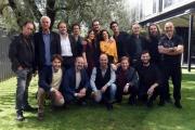 Foto/IPP/Gioia Botteghi12/10/2018 Roma, presentazione della seconda serie della fiction Rocco Schiavone, nella foto: il cast Italy Photo Press - World Copyright