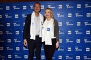 Foto/IPP/Gioia Botteghi Roma05/12/2018 Presentazione in Rai del Telethon 2018, nella foto: Amadeus e Mira Carbone Italy Photo Press - World Copyright