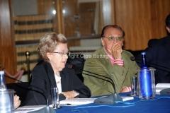 02/10/2013 Roma presentazione in rai del libro Le televisioni di Massimo Fichera, nella foto Annamaria Tarantola, Arbore