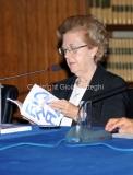 02/10/2013 Roma presentazione in rai del libro Le televisioni di Massimo Fichera, nella foto Annamaria Tarantola