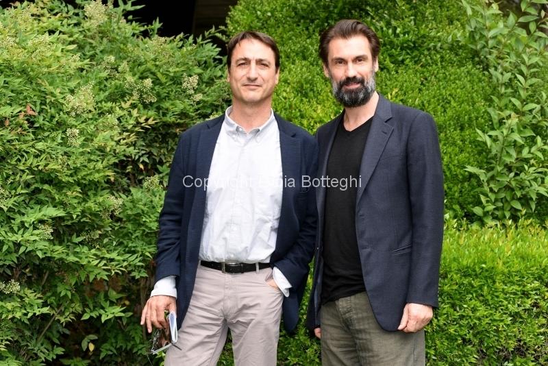 Foto/Gioia Botteghi 21/05/2018 Roma, presentazione della fiction rai uno Prima che la notte, nella foto: Fabrizio Gifuni, Claudio Fava  Italy Photo Press - World Copyright