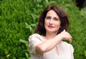 Foto/Gioia Botteghi 21/05/2018 Roma, presentazione della fiction rai uno Prima che la notte, nella foto:   Lorenza Indovina  Italy Photo Press - World Copyright