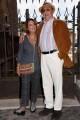 """Foto/IPP/Gioia Botteghi Roma 25/09/2019 Prix Italia Rai ai fori imperiali, nella foto Barbara Boncompagni con Renzo Arbore per presentare """"NO non è la BBC"""" Italy Photo Press - World Copyright"""