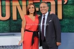 15/09/2014 Roma IL PROCESSO DEL LUNEDI, nella foto: Giovanna Carollo Enrico Varriale
