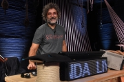 Foto/IPP/Gioia Botteghi 28/09/2017 Roma, presentazione del nuovo programma di La7 PROPAGANDA, nella foto: Marco D'Ambrosio Makkox autore e ideatore anche del programma SKROLL