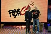 Foto/IPP/Gioia Botteghi 28/09/2017 Roma, presentazione del nuovo programma di La7 PROPAGANDA, nella foto: Diego Bianchi e Andrea Salerno