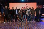Foto/IPP/Gioia Botteghi 28/09/2017 Roma, presentazione del nuovo programma di La7 PROPAGANDA, nella foto: Diego Bianchi  e tutto il cast
