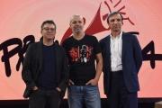 Foto/IPP/Gioia Botteghi 28/09/2017 Roma, presentazione del nuovo programma di La7 PROPAGANDA, nella foto: Diego Bianchi e Andrea Salerno, Marco Ghigliani