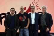 Foto/IPP/Gioia Botteghi 28/09/2017 Roma, presentazione del nuovo programma di La7 PROPAGANDA, nella foto: Diego Bianchi e Andrea Salerno, Marco Ghigliani, Procacci