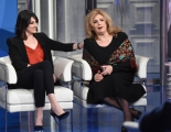 Foto/IPP/Gioia Botteghi 10/04/2018 Roma,  puntata di porta a porta con Elisa Isoardi e Iva Zanicchi  Italy Photo Press - World Copyright