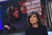 Foto/IPP/Gioia Botteghi 10/04/2018 Roma,  puntata di porta a porta con la presidente del senato Maria Elisabetta Alberti Casellato  Italy Photo Press - World Copyright