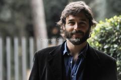 27/03/2014 Roma presentazione della serie tv purchè finisca bene, nella foto Daniele Pecci
