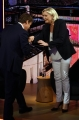 """Foto/IPP/Gioia Botteghi 08/10/2018 Roma, puntata della trasmissione di Nicola Porro """"Quarta repubblica"""", ospite Marine Le Pen  Italy Photo Press - World Copyright"""