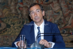 31/07/2013 Roma Conferenza Stampa per la presentazione della Convenzione RAI - EXPO 2015, nella foto Giuseppe Sala – Commissario unico delegato dal Governo per EXPO Milano2015