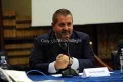 11/12/2014 Roma Convegno rai La lingua italiana sulla frontiera, nella foto: Fabrizio Casinelli Responsabile ufficio stampa RAI