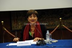 11/12/2014 Roma Convegno rai La lingua italiana sulla frontiera, nella foto: loredana Cornero Segretaria generale CRI