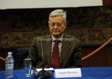 11/12/2014 Roma Convegno rai La lingua italiana sulla frontiera, nella foto: Claudio Marazzini Pres. Accademia della Crusca