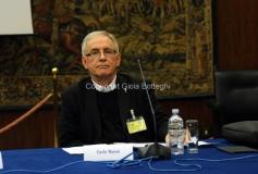 11/12/2014 Roma Convegno rai La lingua italiana sulla frontiera, nella foto: Carlo Nanni Rettore dell'università Salesiana