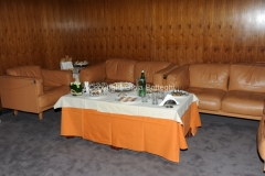 29/3/2012 Roma presentazione di Rai Scuola, nella foto: il bouffet preparato dai ragazzi