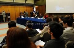 29/3/2012 Roma presentazione di Rai Scuola, nella foto: il ministro Profumo, Lorenza Lei, Silvia Calandrella, Fabrizio Casinelli