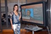 Gioia/Botteghi/OMEGA RAI UTILE canale digitale terrestre le due conduttrici Sabina Stilo