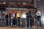 Gioia/Botteghi/OMEGA RAI UTILE canale digitale terrestre le due conduttrici Sabina Stilo e Selena Pellegrini. e tutta la redazione con il direttore Angiolino Lonardi