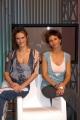 Gioia/Botteghi/OMEGA RAI UTILE canale digitale terrestre le due conduttrici Sabina Stilo e Selena Pellegrini.