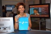 Gioia/Botteghi/OMEGA RAI UTILE canale digitale terrestre le due conduttrici Selena Pellegrini.