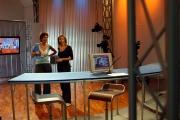Gioia/Botteghi/OMEGA RAI UTILE canale digitale terrestre Selena Pellegrini. in studio in prova