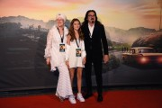 Foto/IPP/Gioia Botteghi Roma 02/08/2019 Red carpet del film C era una volta Hollywood  nella foto: i genitori di  Leonardo Di Caprio Italy Photo Press - World Copyright